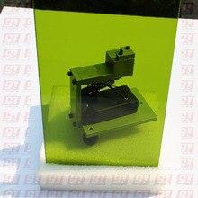 YAG 1064nm лазерное защитное стекло размер 100 мм x 150 мм толщина 5 мм O.D 5