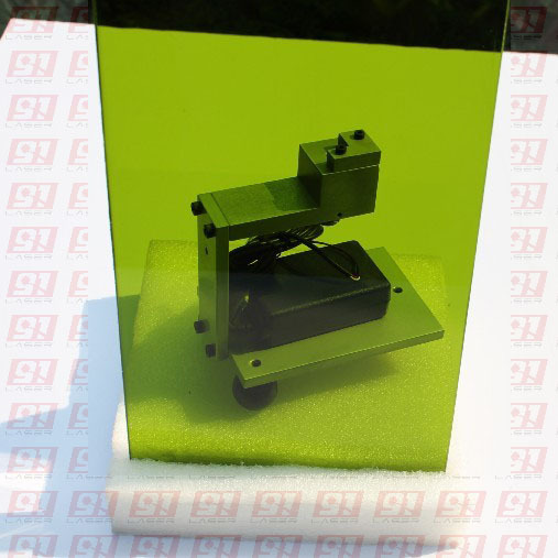 YAG 1064nm Laser Safety Window Size 100mmx150mm Thickness 5mm O.D 5