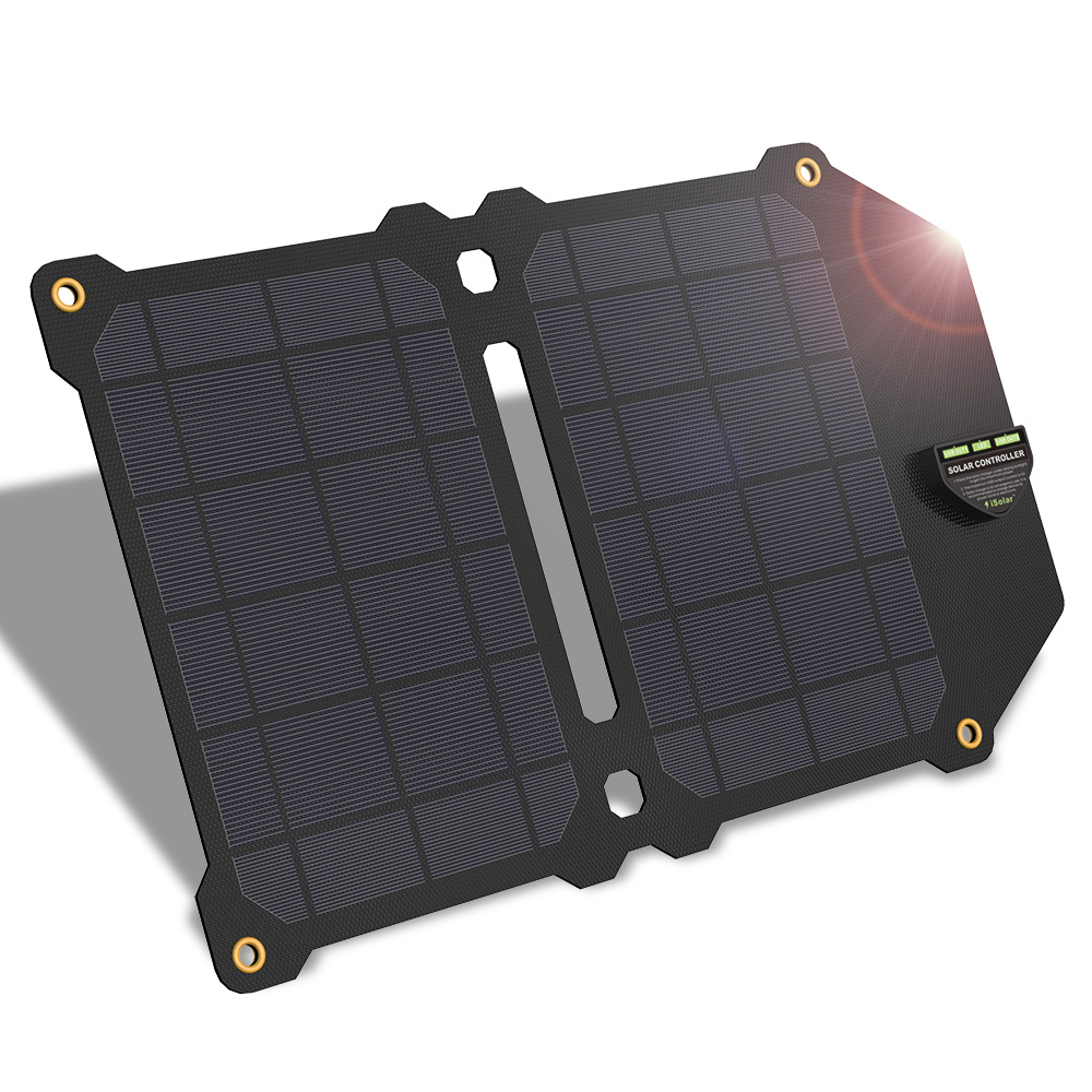 New Arrival ALLPOWERS Solar Panels Charger Waterproof Solar Panels For IPhone X IPhone XR IPhone Xmax Samsung Honor HTC Sony.