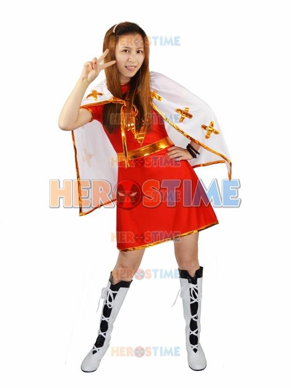Marvel Family Mary Superhero Kostým Hot výprodej Spandex Halloween - Kostýmy