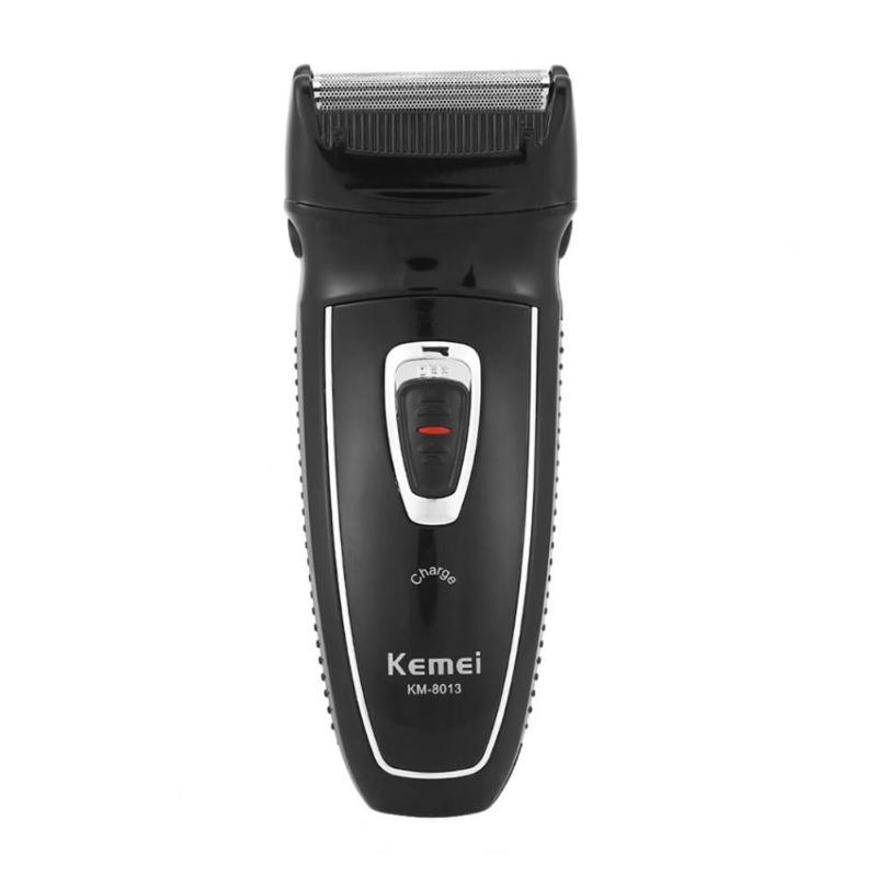 KM 8013 Electric Shaver Reciprocating Beard Razor Rechargeable Men Razor men s electric shaver usb rechargeable electric shaver beard knife reciprocating