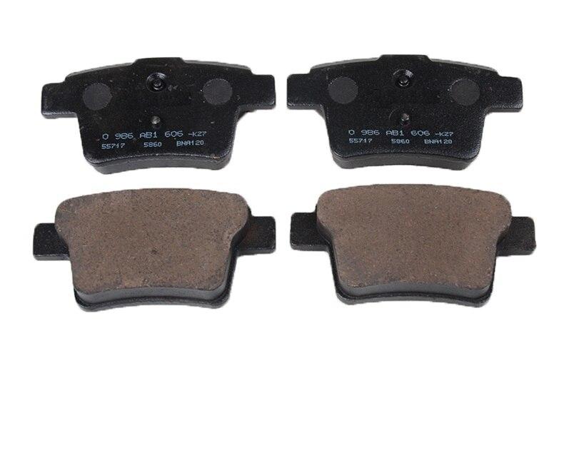(4 pièces/ensemble) jeu de plaquettes de frein avant/arrière KIT-FR frein à disque RR pour chinois GEELY EC7 EMGRAND Auto voiture moteur partie 1064001724 - 4