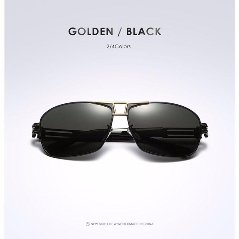 Roupai Polarized Super Cool Military Glasses For Police Driving Mens Square Anti Glare Sunglasses UV400 377 (4)