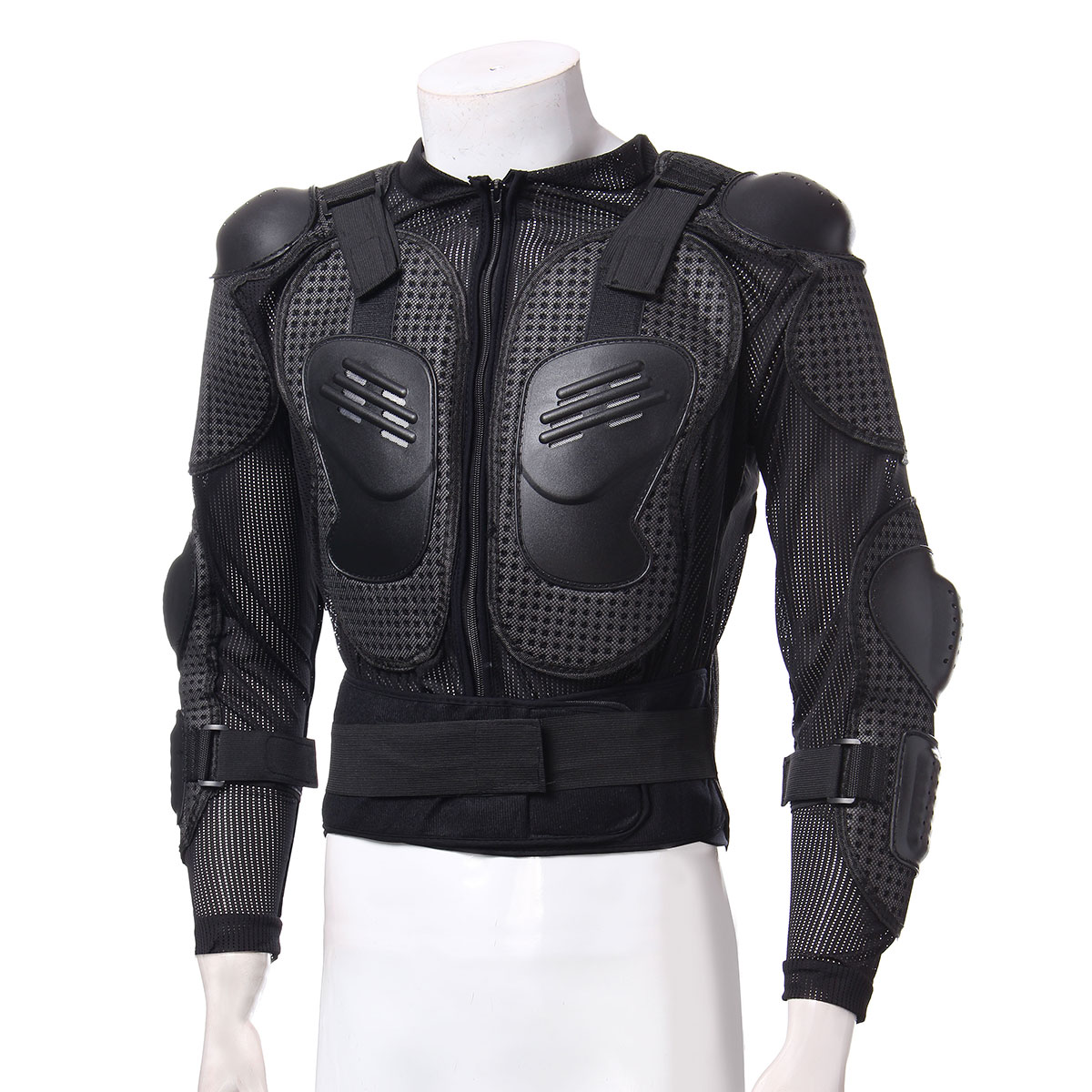 Armor US Motorcycle Gear Jacket Protection Spine Riding Body Shoulder Full Chest Sexy Design And Adjustable Belt(China)