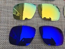 7cbd22f27a8f0c 2 paires Pourpre et 24 k Or Polarisées Remplacement Lentilles Lentille pour  Envoi 1 lunettes de Soleil