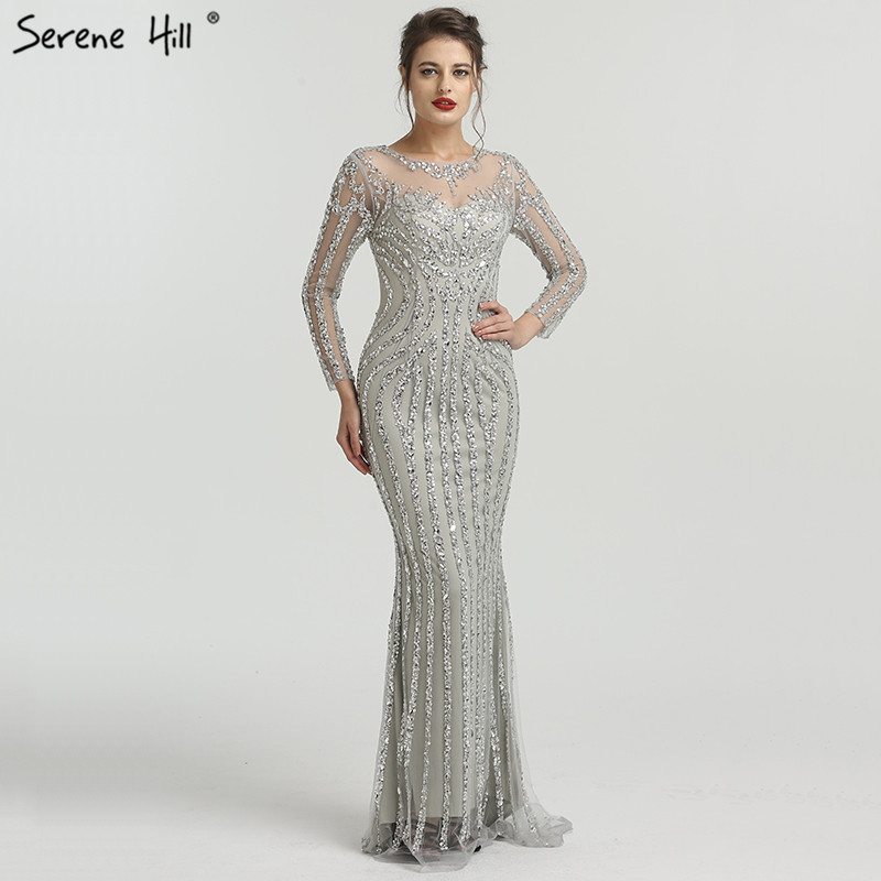b01d68aef9641 top 10 largest grey mermaid dress long ideas and get free shipping ...