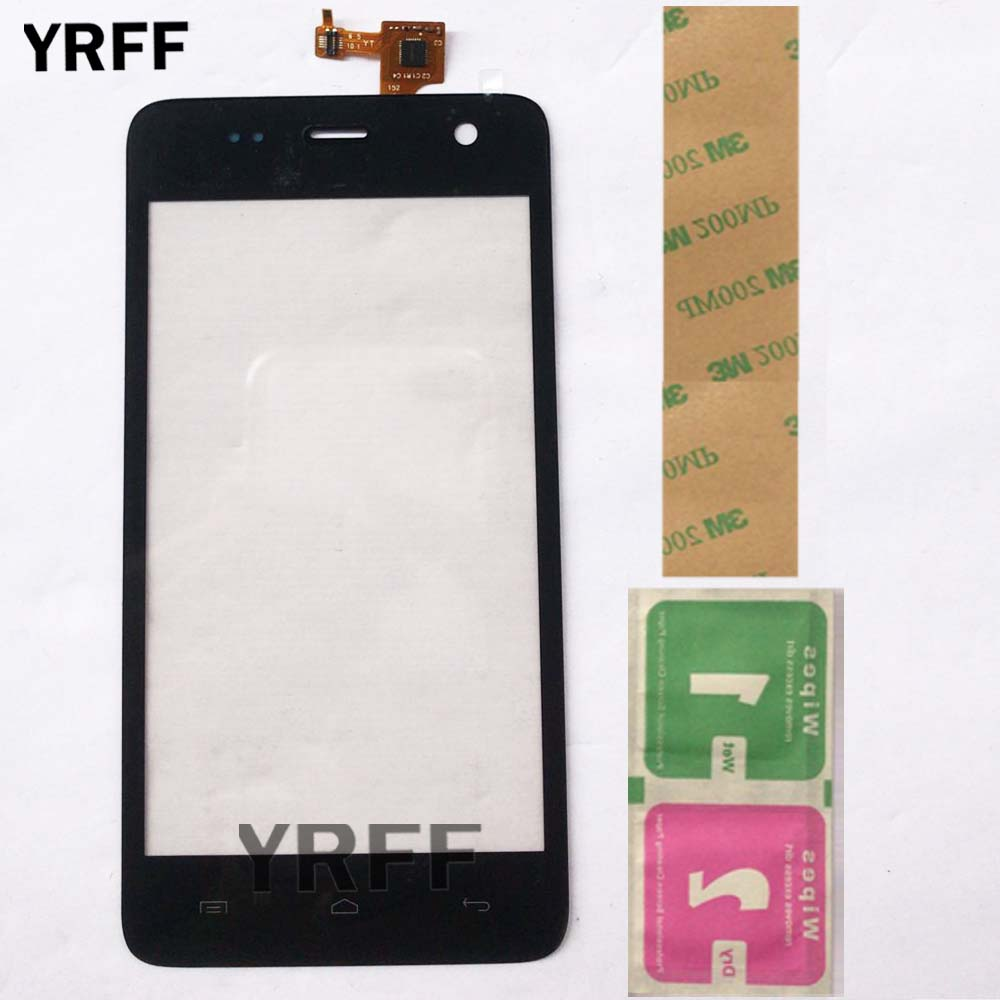 Mobile Touch Screen For Explay Vega Touch Screen Sensor Digitizer Front Glass Touch Panel Lens Sensor 3M Glue Wipes