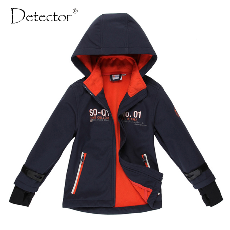 Detector Jungen Softshelljacke Navy 92-128