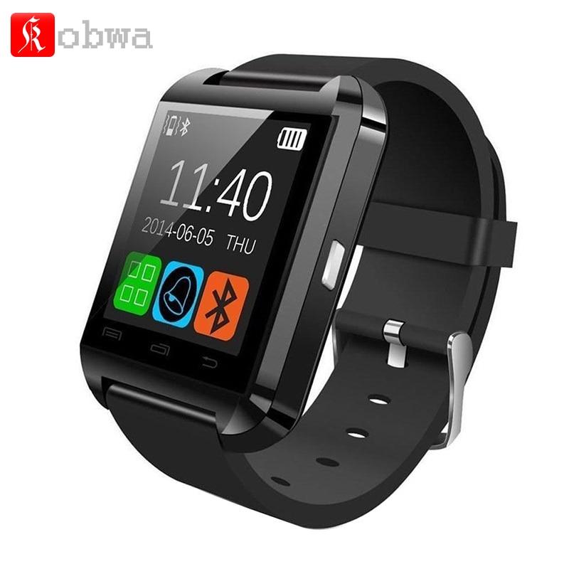 imágenes para Original Bluetooth U8 Reloj Inteligente Bebida Barómetro Reloj de Pulsera Deportivo Impermeable Reloj Pasómetro Para IOS Android Teléfono