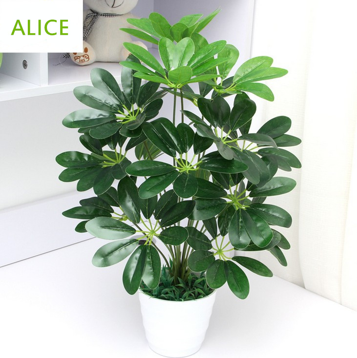 Artificial Plants Living Room Hotel Office Put Small Decorative Potted  Bonsai 45cm18 Ye Money Tree In Artificial U0026 Dried Flowers From Home U0026  Garden On ... Part 54