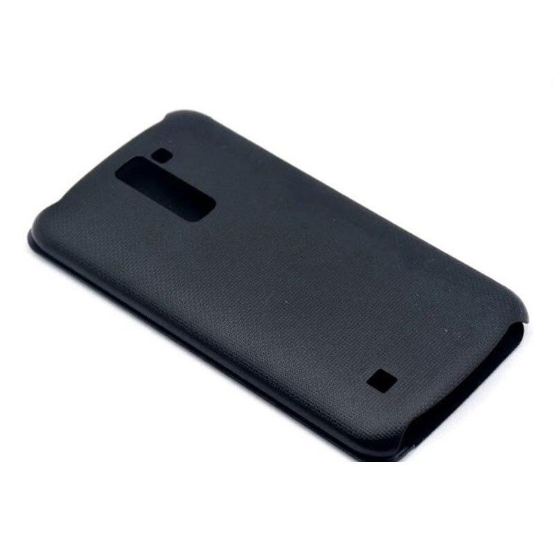 For LG K10 2016 Case Flip Smart Quick Cover Side Window View Leather Phone Bags For LG K10 K 10 LTE K410 K420N K430 K430ds Capas in Flip Cases from Cellphones Telecommunications