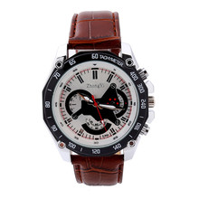 Irisshine #06 high quality Men watches brand gift  Luxury Men's Date Watch Leather Military Analog Watches