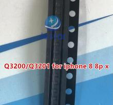 Lote de 10 unidades de chips ic de diodo de protección de carga de batería Q3200 Q3201 para iphone 8 8P X
