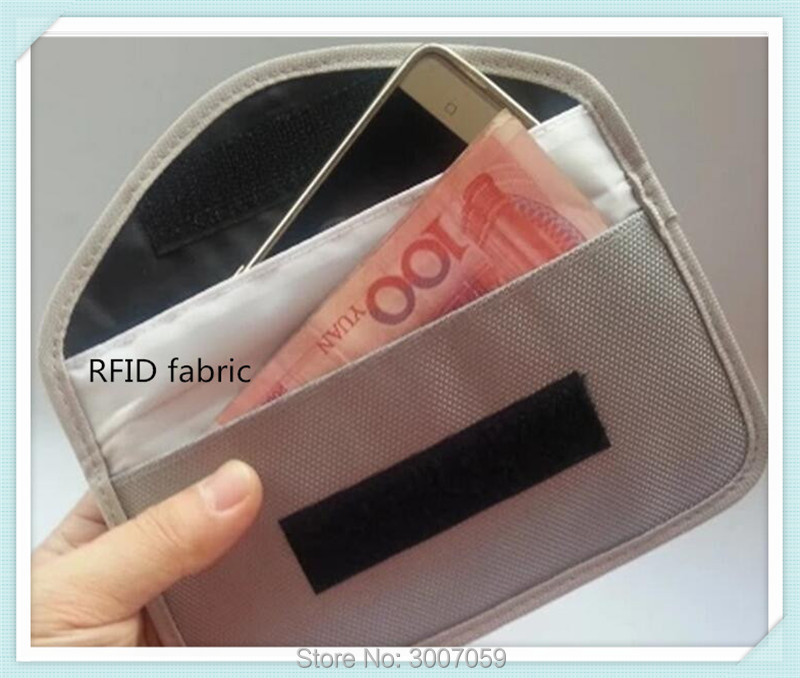 108cm x 500 cm nickel copper Electromagnetic rfid shielding fabric for bag lining