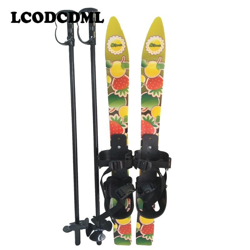 Prix pour 65 cm enfants débutant sonw pôles conseil fixations skiblades snowboard