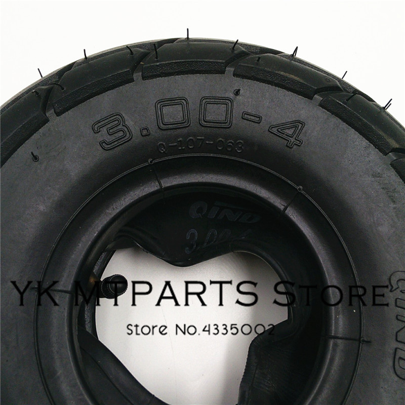 3 00 4 Scooter tyre Mini ATV wheel tyre Qinda brand Wheel Tires Off Road pattern Qinda brand Wheel Tires in Tyres from Automobiles Motorcycles