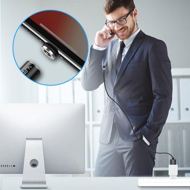RAXFLY 2in1 Magnétique Câble Micro USB Câble Pour Samsung S3 S4 S6 Éclairage Câble Pour iPhone 7 6 5 USB type-C Câble pour Xiaomi 5 5S 4