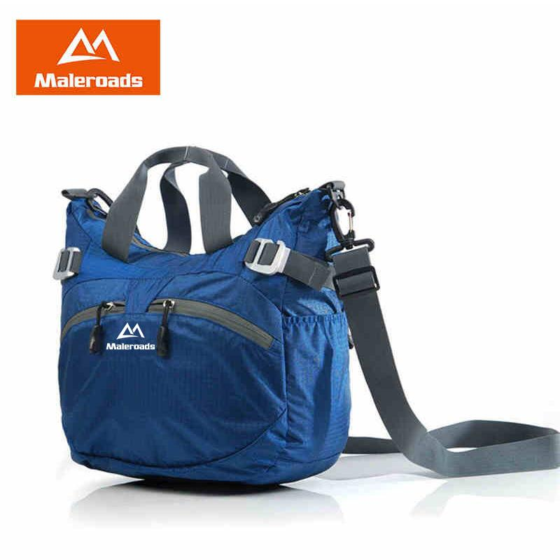 Maleroads Outdoor Gym Bag Shoulder Bags Handbag Nylon Waterproof Messenger Sling Travel Bag for Women Man
