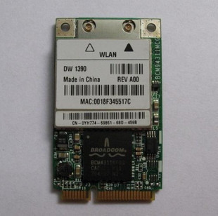 BROADCOM WIRELESS 1390 WLAN MINI PCI CARD DRIVER UPDATE