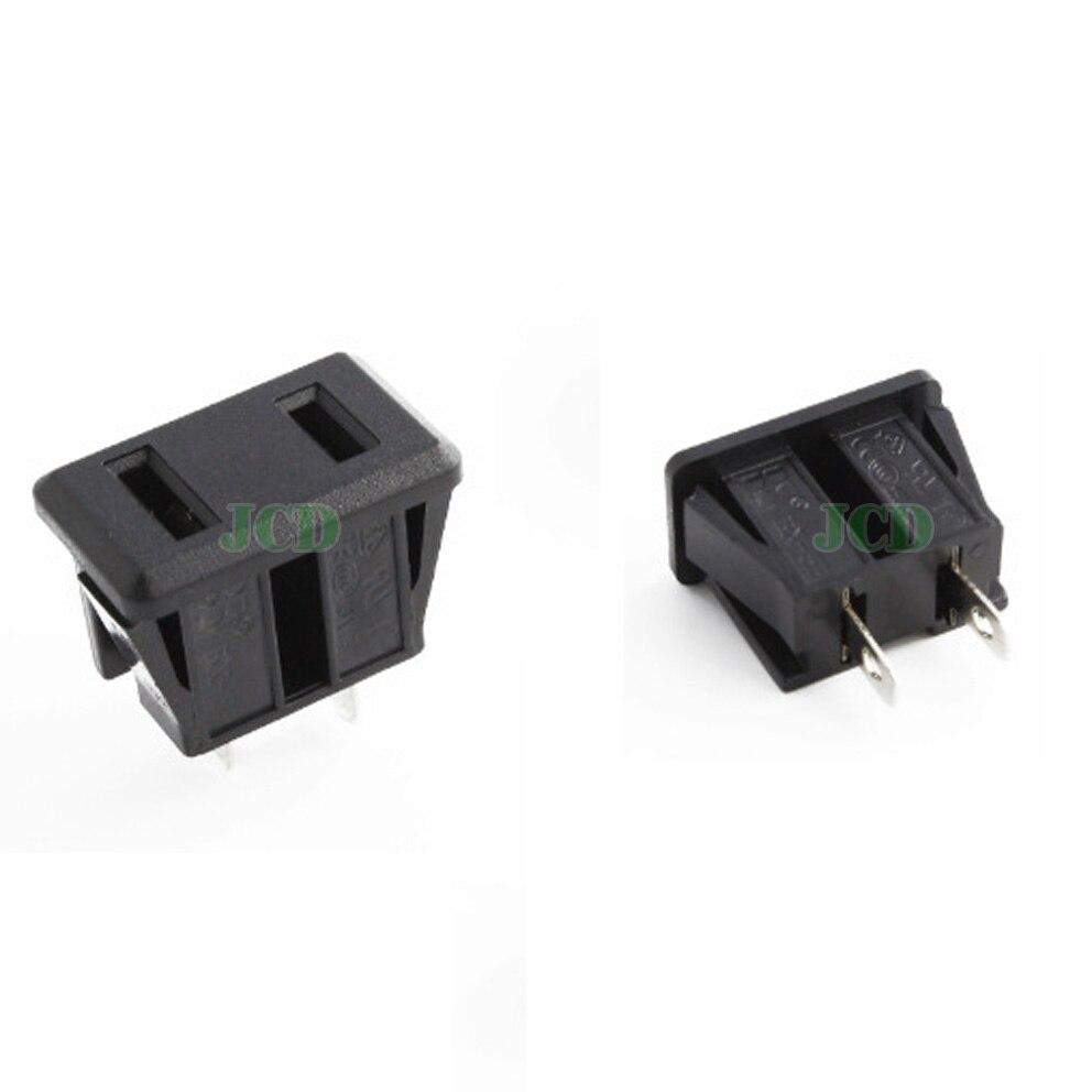 1x-ac-power-socket-outlet-us-regulations-connector-socket-american-polar-holes-card-socket-environmental-copper