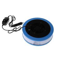 1 комплект, автомобильный очиститель воздуха, для Xiaomi, фильтр для очистки воздуха+ кабель питания+ вентилятор, удаляющий дымку, дымовую пыль, HCHO, свежий воздух