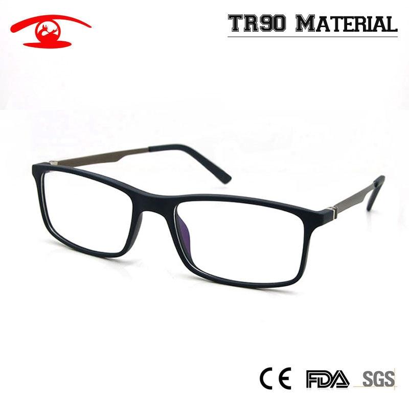 e31327494827 New Men Women TR90 Light Thin Glasses Optical Eyeglasses Myopia Spectacles  Prescription Eyewear Full Rim Fashion Glasses-in Eyewear Frames from Men s  ...