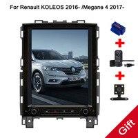 10.4 Tesla Type Android 7.1 Fit Renault KOLEOS 2016 2017 2018 /Megane 4 2017 2018 Car DVD Player Navigation GPS Radio