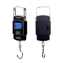 Durable Pocket Portable 50kg/10g LCD Digital Electronic Hand Held Fishing Scale Hook Hanging Scale Backlight Balance Weighing