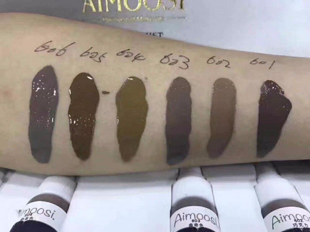 para a tatuagem cosmética do pigmento da