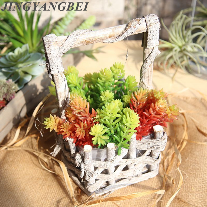 Valentines Day 6 head fruit string tree microlandscape multi meat simulation plant decoration wedding simulation Fake flowers