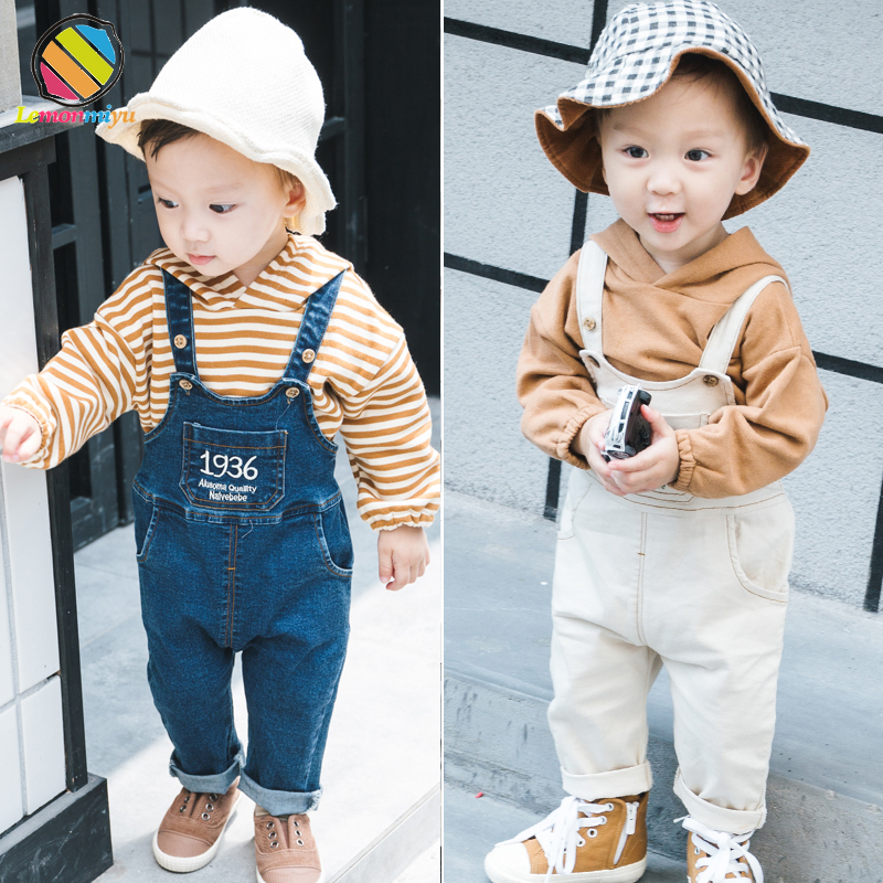 Lemonmiyu Sets For Boys Denim Letter Cotton Childrens Sets Full Sleeve Hooded Striped Casual 2pcs Suits 1-4T Autumn ClothingLemonmiyu Sets For Boys Denim Letter Cotton Childrens Sets Full Sleeve Hooded Striped Casual 2pcs Suits 1-4T Autumn Clothing
