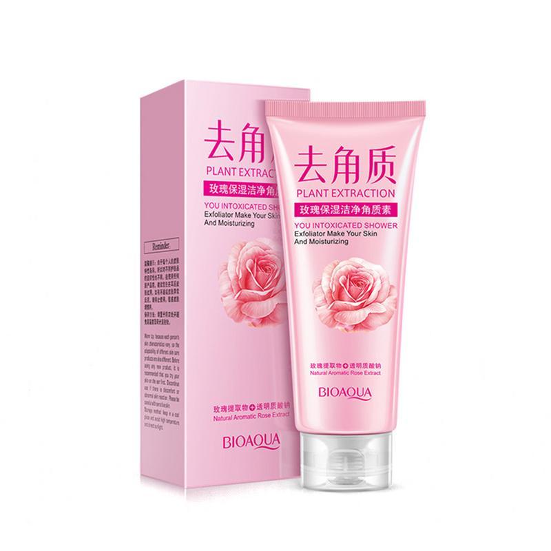 Rose Moisturizing Deep Cleansing Rejuvenating Scrub Cleaner Exfoliator Skin Care Cream