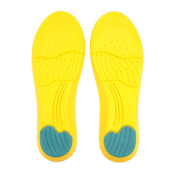 1 pair Super Soft Relief Pain Memory Foam Orthotic Arch Insert Insoles Cushion Sport Support Shoe Pads Shoes Insoles