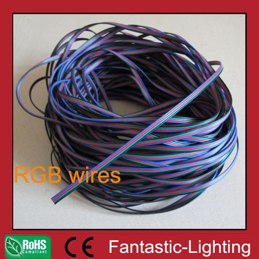 LED RGB Kabel draht 5 mt 8 mt 10 mt 20 mt 30 mt 50 mt RGB kabel 4 ...