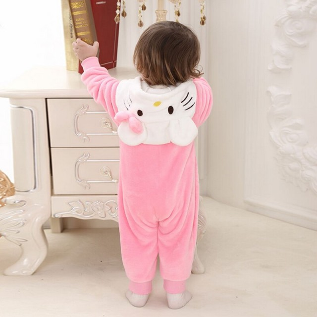 Minion Hello kitty baby clothes