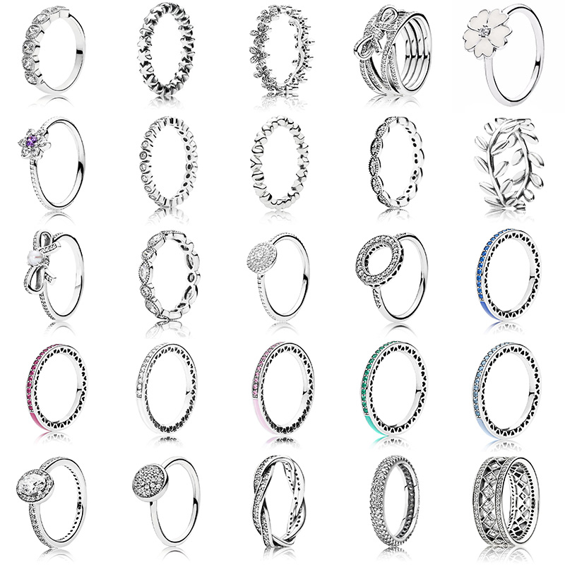 25 Style Fashion Arrived 925 Sterling Silver Ring Charms 6