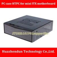 DEBROGLIE 1PCS mini HTPC Case Black Mini ITX Cases Computer Gaming PC Desktop Case Series
