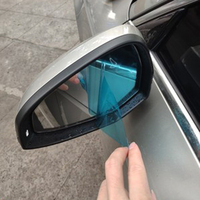 2pcs anti fog waterproof car sticker anti glare rearview mirror protective film accessories for Audi A3 8V A4 B8 B9 A6 C7 Q3 Q5