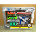 1 set Boxed inertia car pull back cars police cars fire engines fire works children 's carts toys For gift