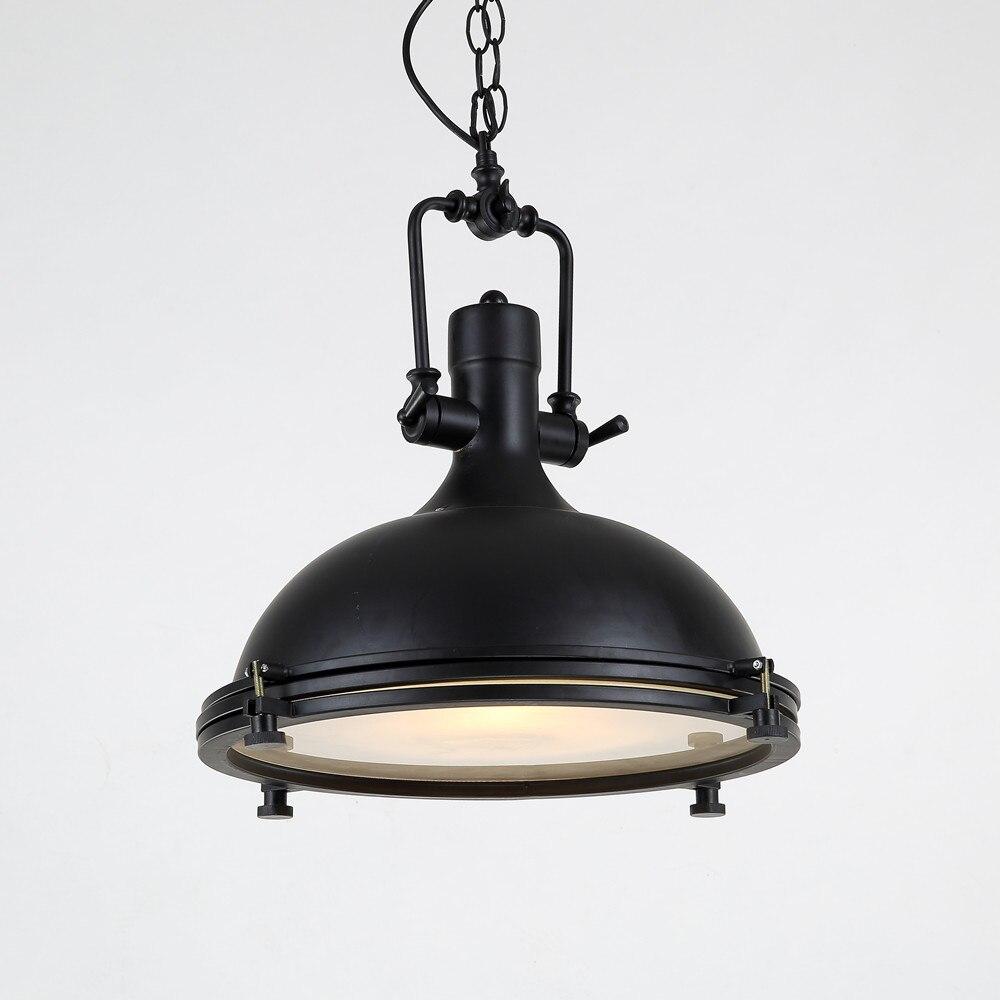 jahrgang lampe industrielle leuchten schmiedeeisen schwarz