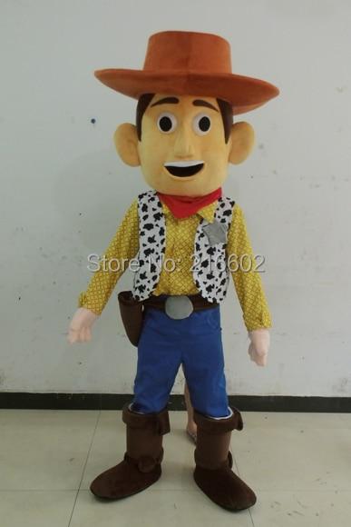Cosplay costumes woody mascotte dessin animé mascotte costume dessin animé mascotte adulte taille livraison gratuite
