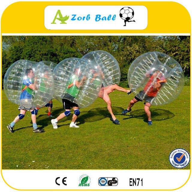 Wspaniały Najniższa cena 1.5 M TPU jakości bańki piłka nożna, kula bumper MZ31