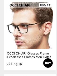 0e04b2d9b9 OCCI CHIARI Men Glasses Frame Optical glasses Frame Fashion black ...