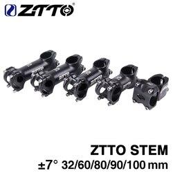 Ztto haste de bicicleta 3d forjada, liga de alumínio, xc am road bike mtb, mountain bike, haste de 7 graus, ciclismo 32mm 60mm 80mm 90mm