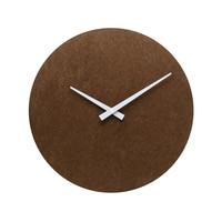 New Arrival WB03 Sweep Modern Decorative Design Fashion MDF Wall Clock Wood MDF DIY Round No