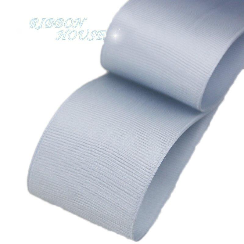 (5 м/лот) 40 мм серебристо-серый полушерстяной лентой подарочная упаковка оптом Рождество украшение ленты