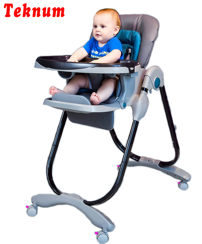 Teknum baby seat chair folding multi-purpose portable baby chair children's dining table chair цены