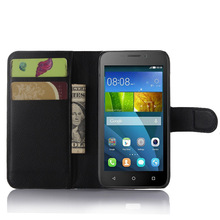 Luxury Coque Fundas For Huawei Ascend Y560-U02 / Honor Bee Y541-U02 Y5c Phone Case Stand Wallet Leather Flip Cover Bag Skin Case