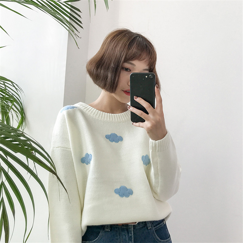19 Women Sweaters And Pullovers Long sleeve Knitted Women's Sweater Female Winter V Neck Jumper Sueter Mujer Pull Femme 9