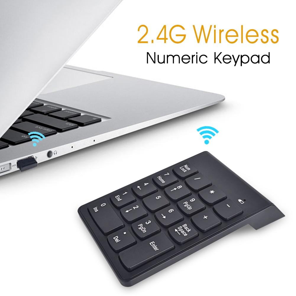 Ultra-delgado teclado numérico USB 2.4G Mini teclado inalámbrico - Periféricos de la computadora - foto 5